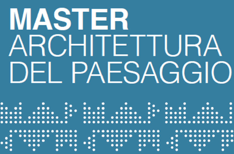 Presentation of Master in Landscape Architecture