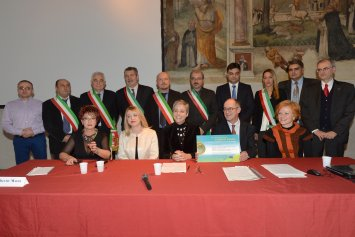 Award ceremony in Forlì, December 2014
